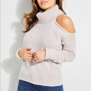 Guess One Cold Shoulder Sweater Size S